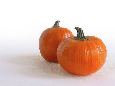 Photograph -  A Pair Of Pumpkins by David and Carol Kelly