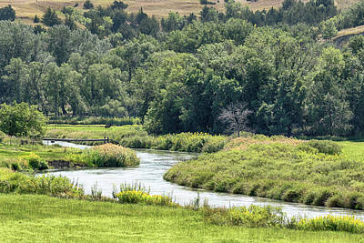 Photograph - A Prairie River by Susan Rissi Tregoning