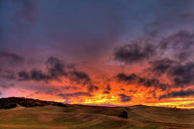 Photograph - A Palouse Sunset by David Patterson