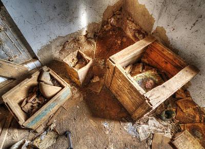 Photograph - A Pandora's Box by Wayne Sherriff