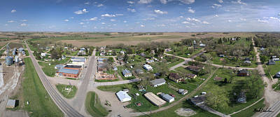 Photograph - A Panorama Of Bruno, Nebraska by Mark Dahmke