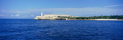 El Morro Photograph - A Panoramic View Of Castillo Del Morro by Panoramic Images