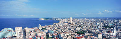 A Panoramic View Of Havana, Cuba Art Print by Panoramic Images