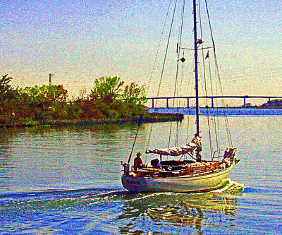 Photograph - A Passion 4 Sailing by Joseph Coulombe