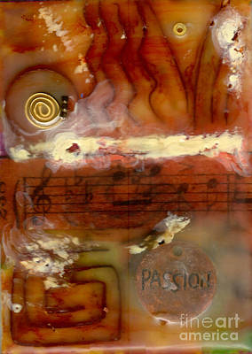 Mixed Media - A Passion For Music by Angela L Walker