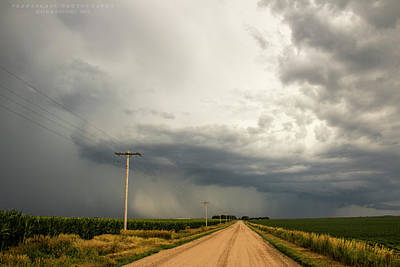 Photograph - A Passion For Shelf Clouds 001 by NebraskaSC