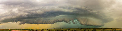 Photograph - A Passion For Shelf Clouds 010 by NebraskaSC