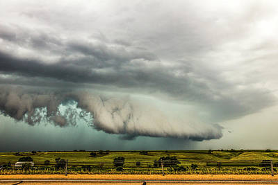 Photograph - A Passion For Shelf Clouds 011 by NebraskaSC