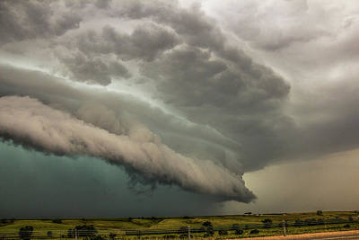 Photograph - A Passion For Shelf Clouds 015 by NebraskaSC