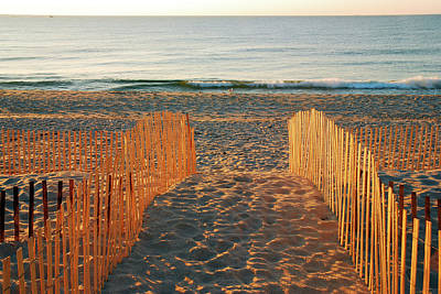 Photograph - A Path To The Beach by James Kirkikis