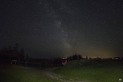 Photograph - A Path To The Milky Way by John Meader