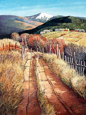 A Path Unknown Art Print