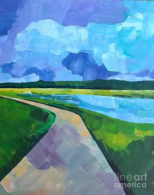 Painting - A Path We Take by Lisa Dionne