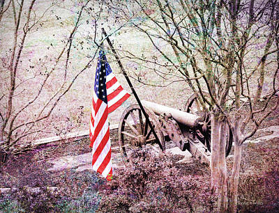 Photograph - A Patriots Vision by Bonnie Willis