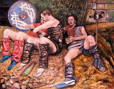 Wall Art - Painting - A Pe De Aragunde by Ralf Glasz
