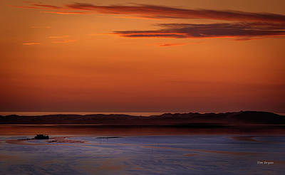Photograph - A Peace At Low Tide by Tim Bryan