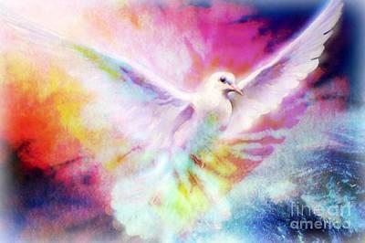 A Peace Dove Art Print