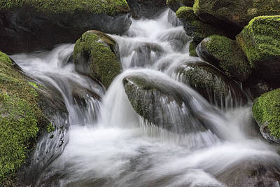 Photograph - A Peaceful Flow by Jeff Abrahamson