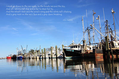 Photograph - A Peaceful Port by Mary Haber