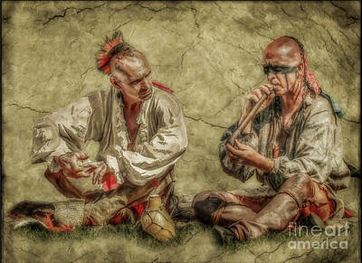 Digital Art - A Peaceful Smoke Small Version Two by Randy Steele