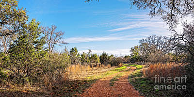 Photograph - A Peaceful Stroll Along The Hackenburg Loop At Pedernales Falls State Park - Texas Hill Country by Silvio Ligutti