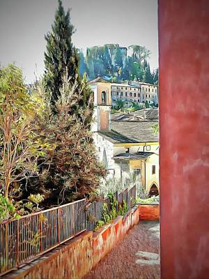 Photograph - A Peek At Cetona by Dorothy Berry-Lound