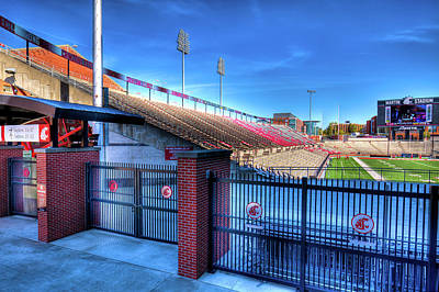 Photograph - A Peek At Martin Stadium by David Patterson