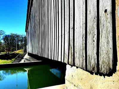A Peek Beneath The Bridge  Art Print by Scott D Van Osdol