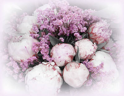 Beautiful Flowers For Mothers Day Digital Art - A Peonies Bouquet For You 2 by To-Tam Gerwe