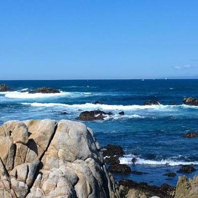 Beach Photograph - A Perfect Day For A Drive To #santacruz by Shari Warren