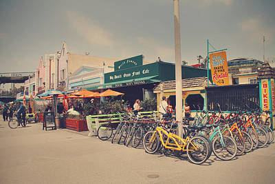 Beach Towns Photograph - A Perfect Day For A Ride by Laurie Search