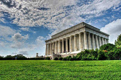 Photograph - A Perfect Day In Washington by Lori Coleman