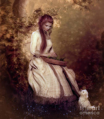 Lost In Thought Art Print by Shanina Conway