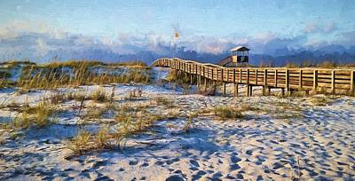 Navarre Beach Photograph - A Perfect Morning by JC Findley