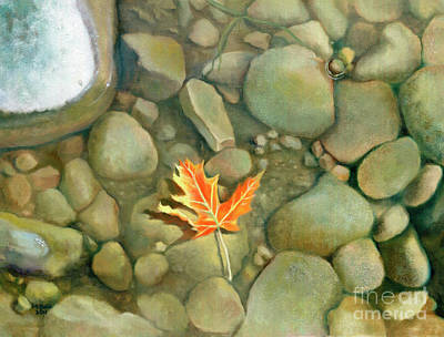 Painting - A Perfect Serenity by Marlene Book