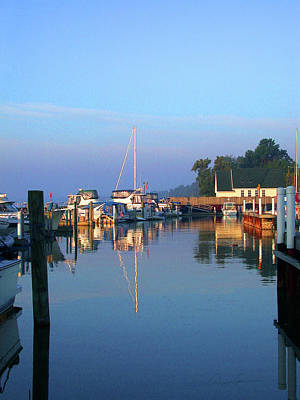 Photograph - A Perfect Tawas Morning by Ann Lauwers