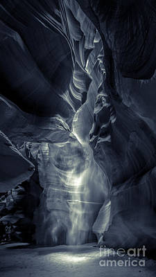 Photograph - A Phantom Emerges From Antelope Canyon by Jim DeLillo