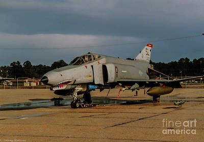 F-4c Photograph - A Phantom In Waiting by Tommy Anderson