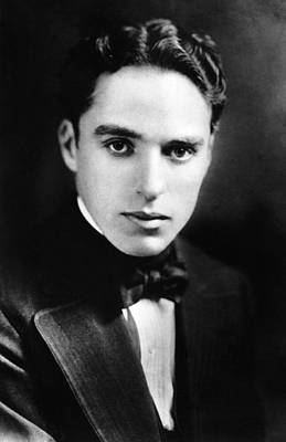 Male Photograph - A Photograph Of Charlie Chaplin by Artistic Panda