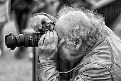 Photograph - A Photographers Photographer by Makk Black