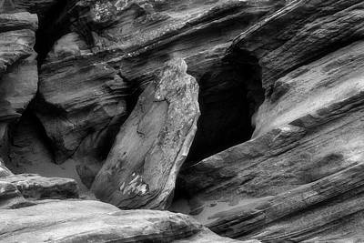 Photograph - A Piece Of The Rock by Mark David Gerson