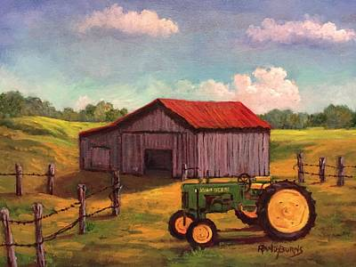 Painting - A Place Called Tennessee by Randy Burns