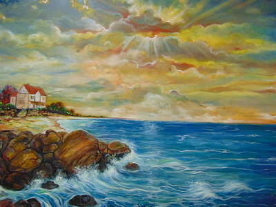 Painting - A Place In My Dreams by Emery Franklin