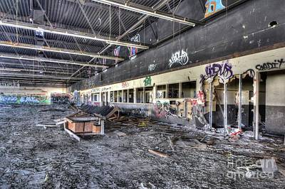 Vandalize Photograph - A Place Of No Return by Thomas Todd