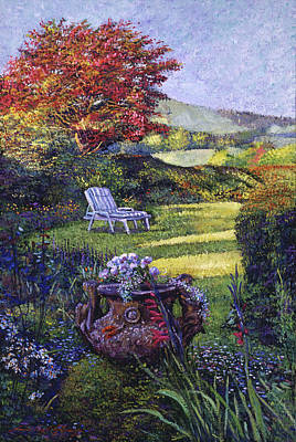 Painting - A Place Of Peace by David Lloyd Glover