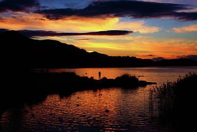 Photograph - Lakes Of Killarney At Sunset by Aidan Moran