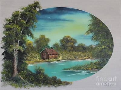 Painting - A Place To Reflect by Bob Williams