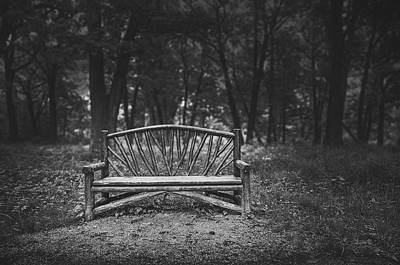 Whimsically Poetic Photographs - A Place to Sit 6 by Scott Norris