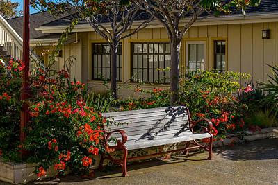 Photograph - A Place To Sit by Derek Dean