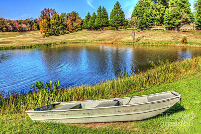 Photograph - A Pleasant Autumn Day On The Lake by Dan Carmichael